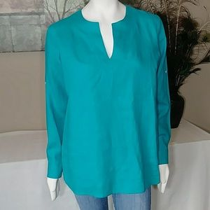 NWOT Ralph Lauren L Linen Tunic